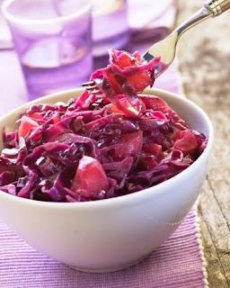Como preparar col morada en vinagre
