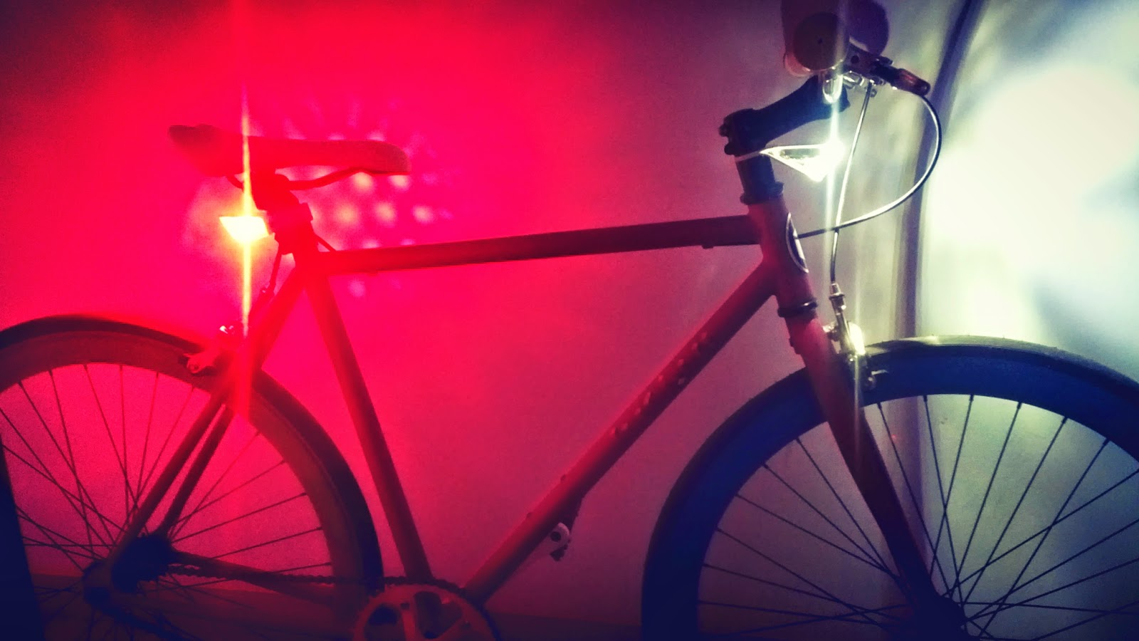 SPARSE Fixed light system - bicycle lights