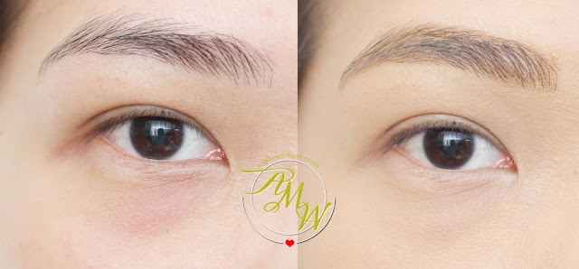 before and after photo of Cathy Doll Sexy Eyebrow Pencil 03