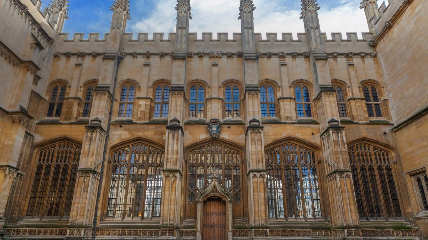 Bodleian Library Bing Wallpaper