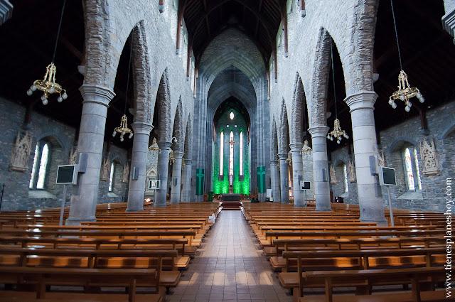 Interior Catedral de Killarney Condado de Kerry Irlanda