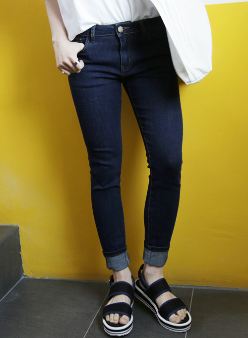 Essential Mid-Rise Skinny Jeans