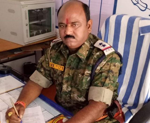 खबर का असर:रेप के आरोप के चलते थाना प्रभारी शिवनाथ सिंह लाइन अटैच | Shivpuri News