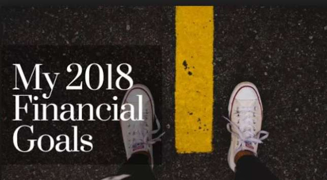5 Financial Goals To Help You Through 2018
