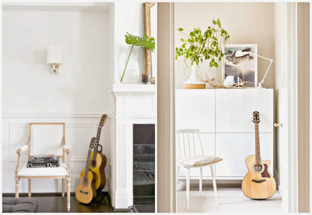 mieszkanie z gitarą
