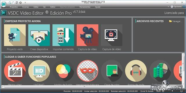 VSDC Video Editor Pro 5 imagenes