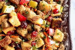 5-Star Sausage Apple and Cranberry Stuffing