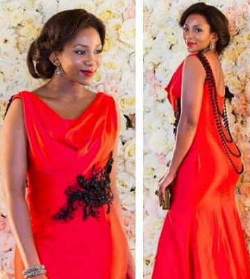genevieve nnaji owe 18000 dress boutique