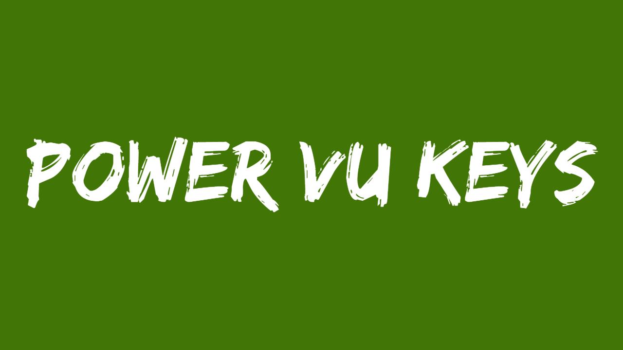 Power Vu Keys - SatelliteHunter RJ