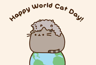 Imágenes Día del Gato Internacional World Cat Day happy world cat day pusheen