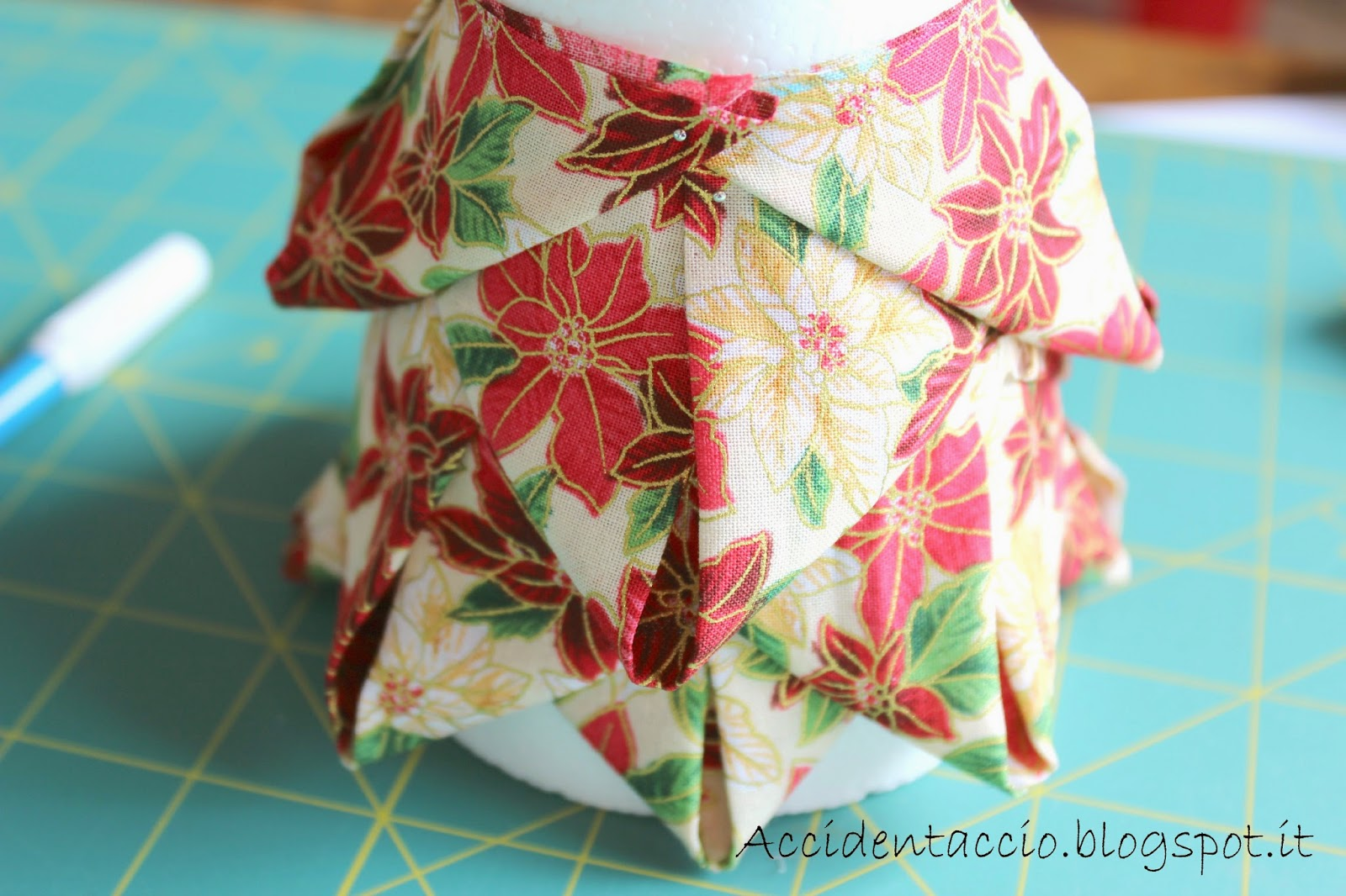 Preferenza Handmade Christmas: Albero di Natale patchwork EA32