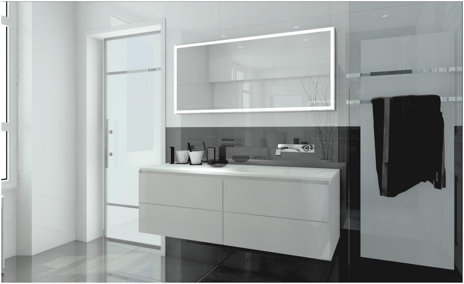 Akom design salle de bain 3d projet d 39 am nagement - Conception salle de bain 3d gratuit ...
