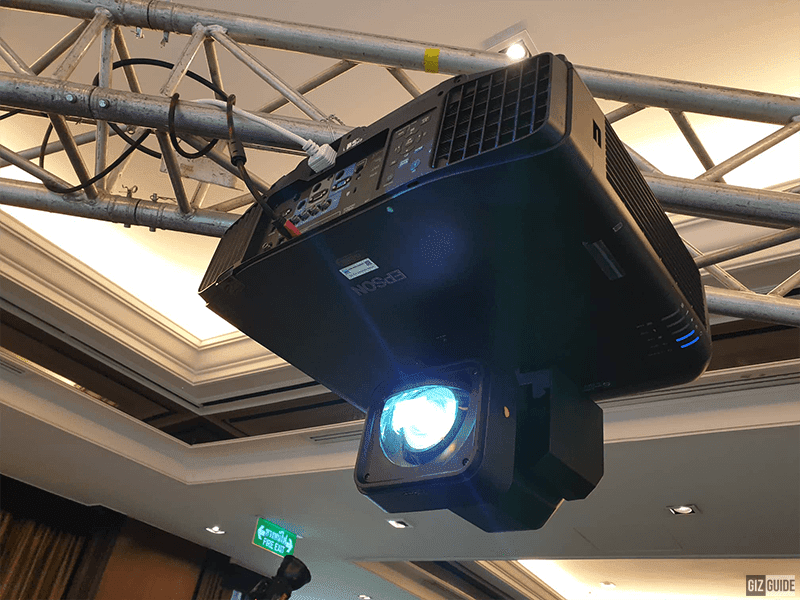 Epson showcase innovative laser projector application