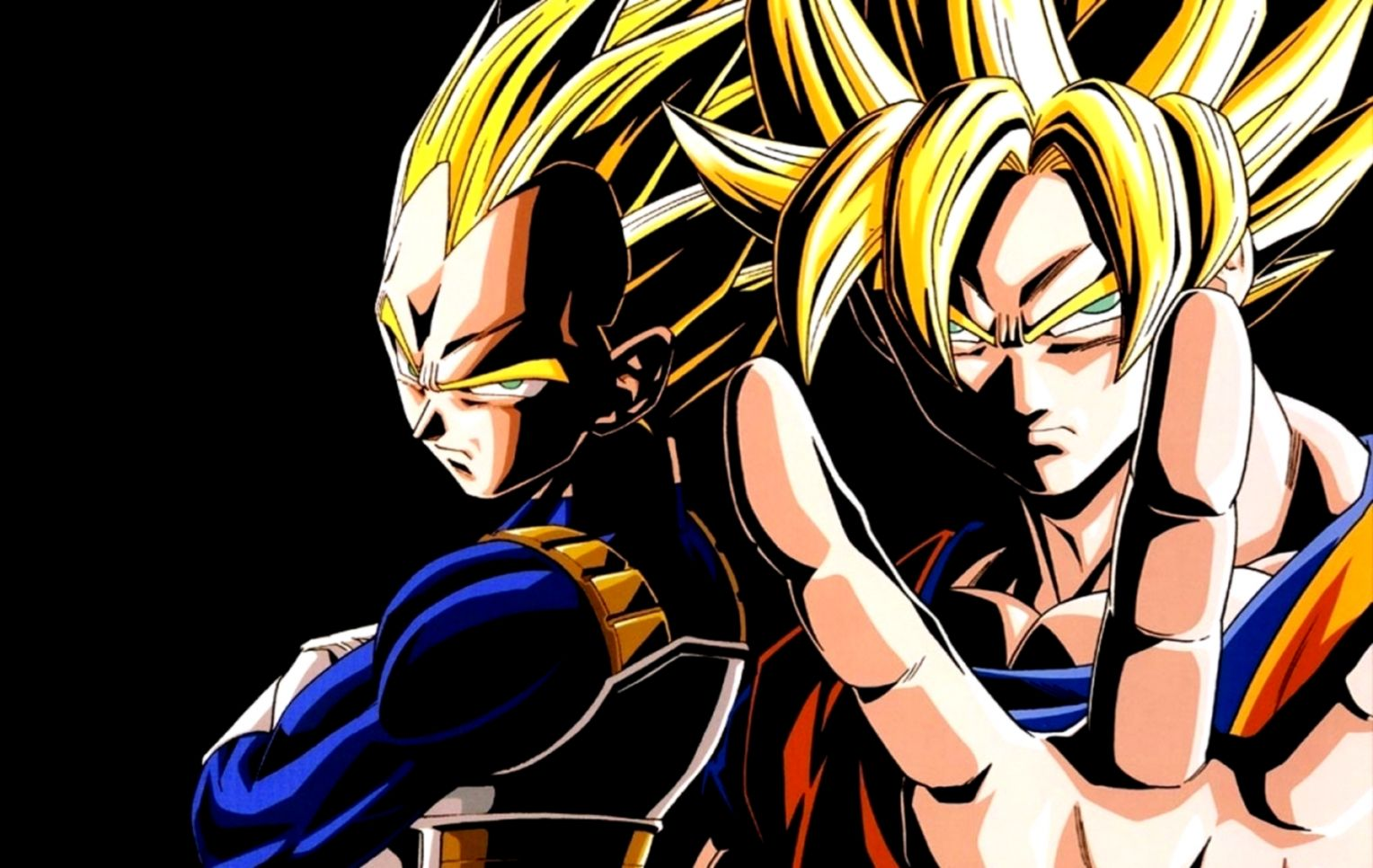 Dragon Ball Z Super Saiyan Goku Vs Vegeta Wallpaper Hd