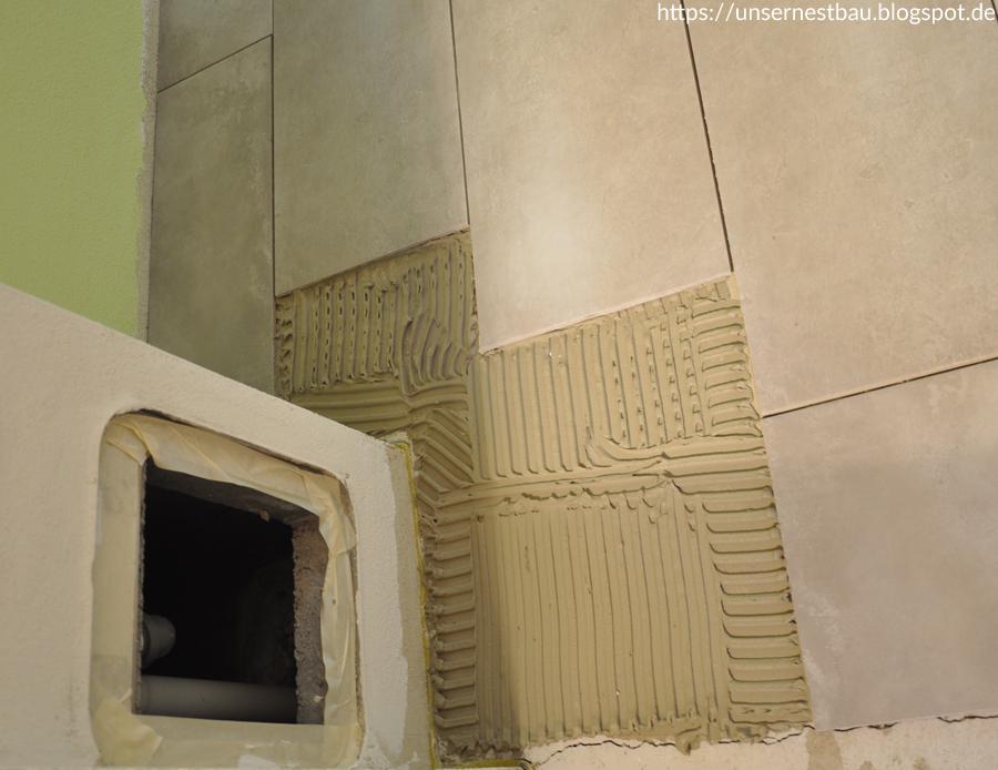 Fußboden Fliesen Keller ~ Unser nestbau: eigenleistung fliesenarbeiten im keller