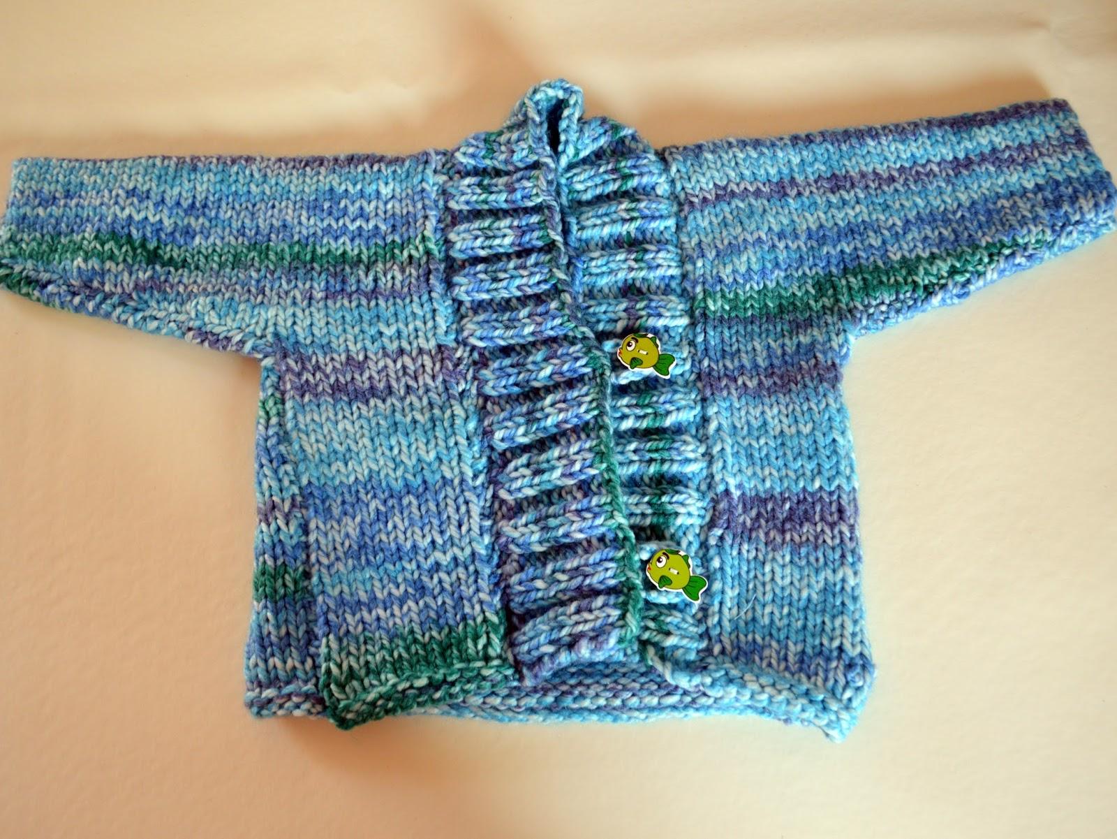 Chaqueta de lana bebe