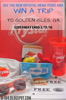 Krystal Giveaway and Family Trip