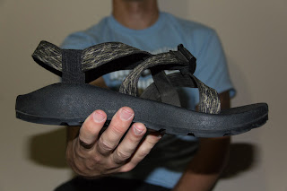 Chaco Z1 Unaweep is great for backpacking