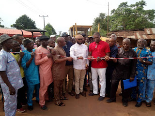 APC Chieftain, Amara Iwuanyanwu, Undertakes Enhancement of Rural Roads in Imo 3