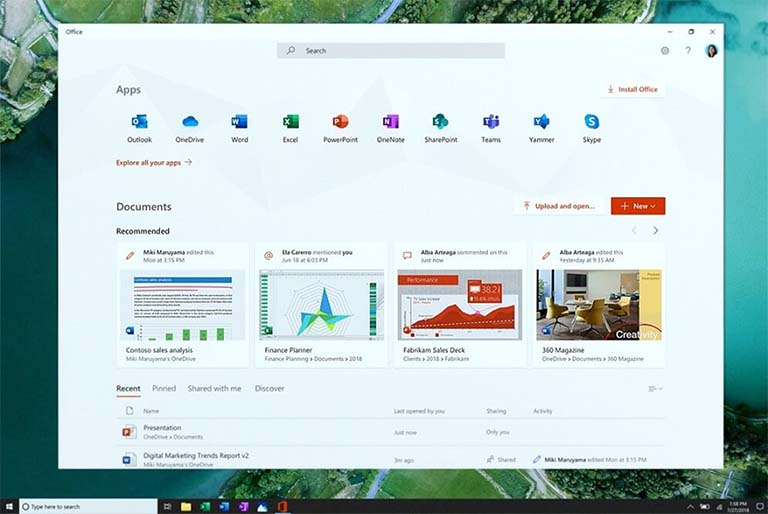 Microsoft Mengumumkan Aplikasi Office Baru Untuk Perangkat Windows 10