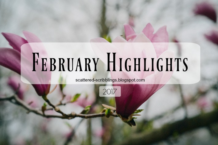 pink flowers February Highlights header