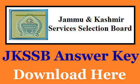 JKSSB Naib Tehsildar EXAMINATION ANSWER KEY CHECK NOW