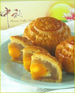 Mooncakes Mid-Autumn Festival treats