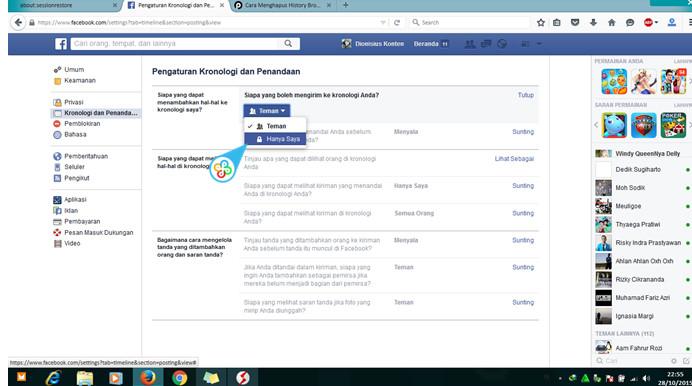 Cara Mengatasi Di Tandai Secara Otomatis Oleh Teman-Teman Kronologi Di Facebook