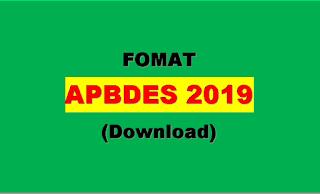 APBDes 2019 + Perdesnya