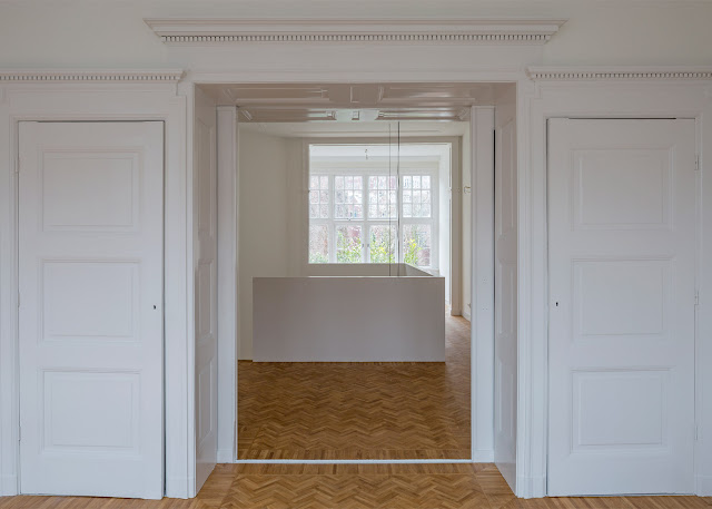 Herringbone Parquet Was Used In This Dutch Townhouse Renovation By Antonia Reif 6