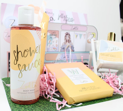 Zoella Beauty Jelly & Gelato Collection Review Shower Sauce