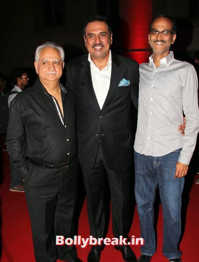 Ramesh Sippy, Boman Irani and Rohan Sippy, Usha Jadhav at Bhoothnath Returns Success Party