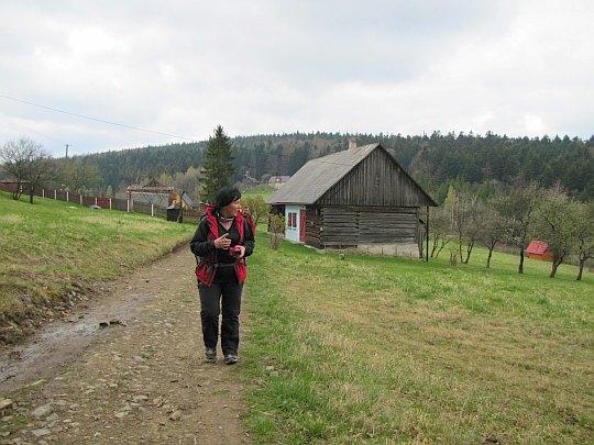 Przełęcz Carchel (640 m n.p.m.).
