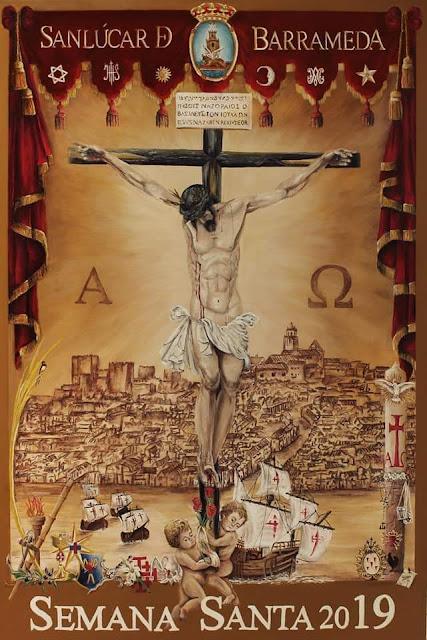 Presentado el cartel de la Semana Santa 2019.  Obra de D.Juan Antonio Sánchez Pacheco