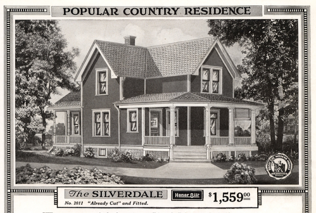 918 Sears Silverdale catalog image of the house