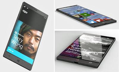 Concept phone dari windows