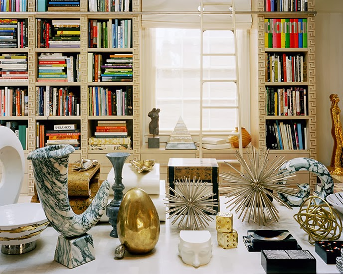 kelly wearstler's home office