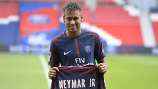 Neymar, soccer, Paris St-Germain, Guingamp