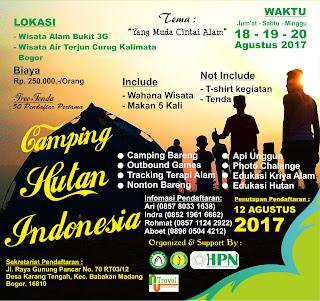 Camping Hutan Indonesia