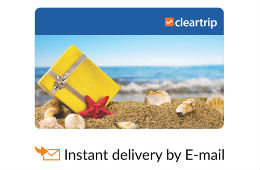 Cleartrip E-Gift Card For Flight & Hotel worth Rs 2000 For 1600 at Snapdeal