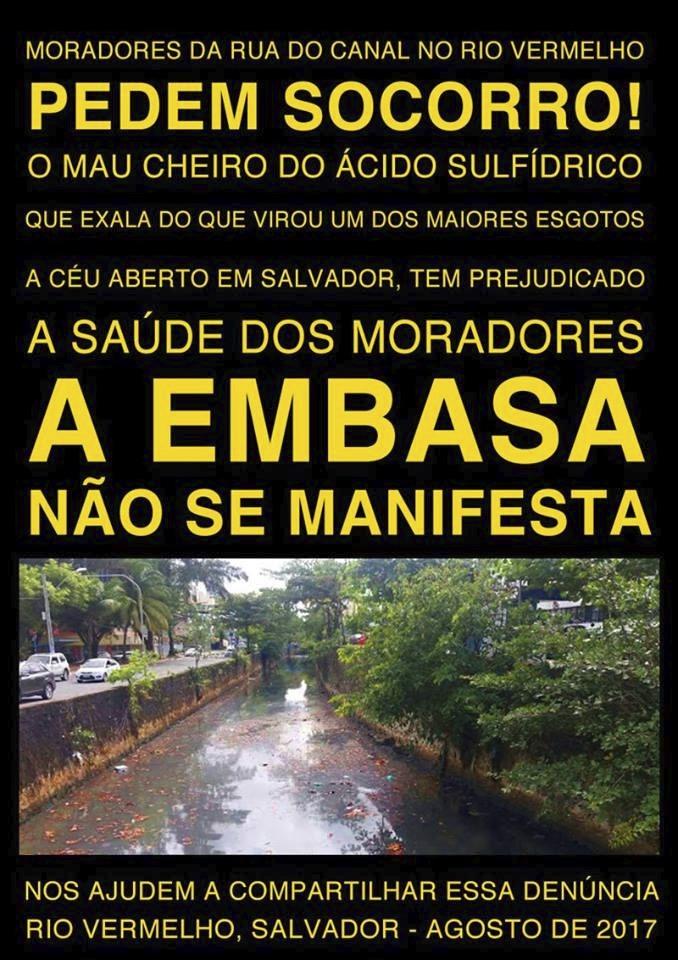 Rua do Canal: Moradores pedem socorro!