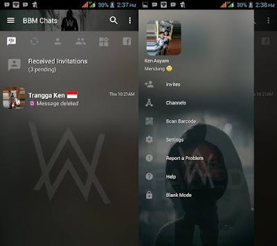 BBM Mod Alan Walker  v3.2.5.12