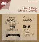 http://www.kreatrends.nl/6410/0409-Clear-stempel-Life-is-a-Journey-|-hobbywinkel