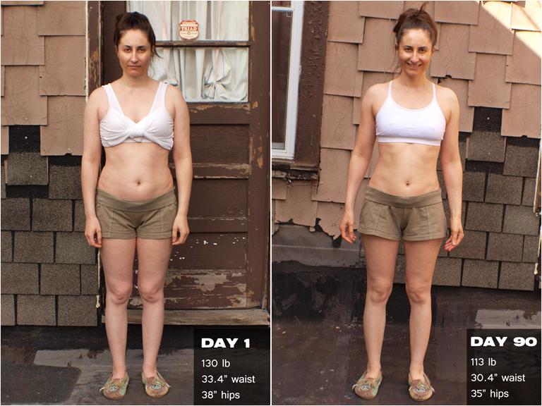 Women's P90X Transformation Results | Melanie Mitro