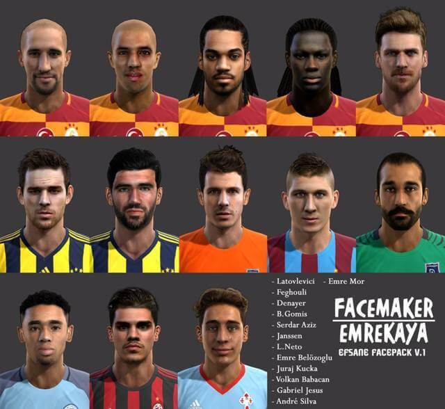 Efsane Facepack PES 2013