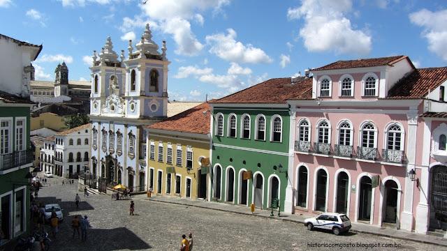Historia de Salvador, Bahia, Pelourinho