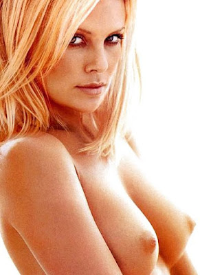 Can charliz theron nud playboy are