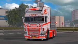 Jasper Hansen Scania R 620 truck mod