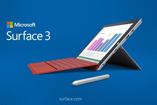 Microsoft Surface 3 will stop in December
