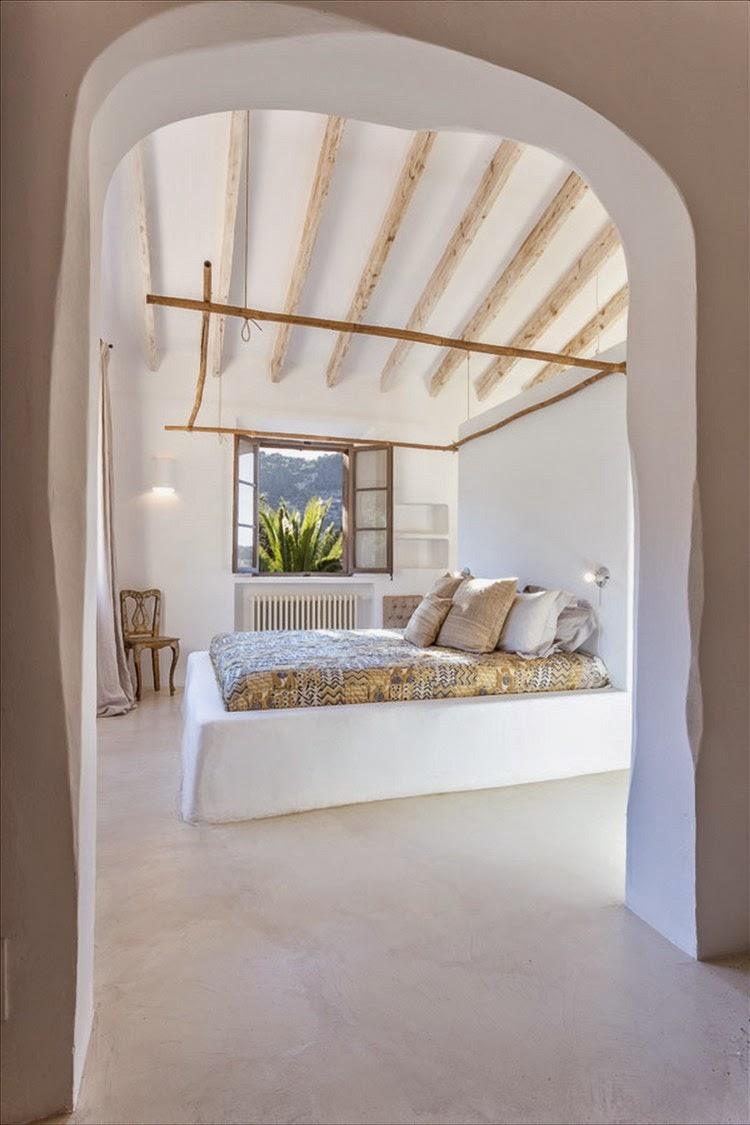 Vicky's Home: Casa Rústica De Estilo Mediterráneo /Rustic